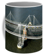 Crossing The Thames Coffee Mug