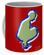 Crouching Figure Coffee Mug