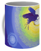 Crow, 1999 Gouache On Paper Coffee Mug