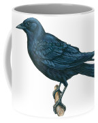 Crow Coffee Mug by Anonymous