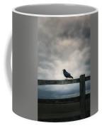 Crow Coffee Mug by Joana Kruse