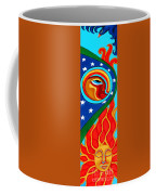 Crow Moon And Sun Coffee Mug