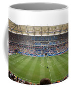 Crowd In A Stadium To Watch A Soccer Coffee Mug