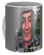 Crowd Watching Coffee Mug
