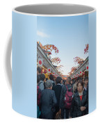 Crowds Shopping Coffee Mug
