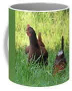 Crowing Rooster Coffee Mug