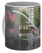 Crown Fountain Play Coffee Mug
