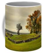 Crown Point Panorama Of The New Lake Champlain Bridge Coffee Mug