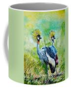 Crowned Cranes Coffee Mug