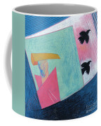 Crows And Geometric Figure Coffee Mug