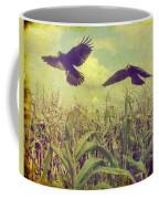Crows Of The Corn Coffee Mug