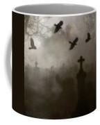 Crows On A Eerie Night Coffee Mug