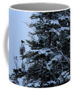 Crows Perch - Snowstorm - Snow - Tree Coffee Mug