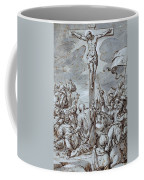 Crucifixion Coffee Mug by Johann or Hans von Aachen