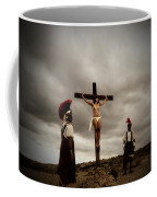 Crucifixion Scene Of Roman Movie Coffee Mug