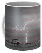 Crude Oil And Natural Gas Striking Across America Bwsc Coffee Mug by James BO  Insogna