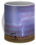 Crude Oil And Natural Gas Striking Across America Coffee Mug by James BO  Insogna