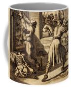 Cruel Chinese Punishment With Bound Coffee Mug