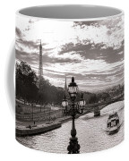 Cruise On The Seine Coffee Mug by Olivier Le Queinec