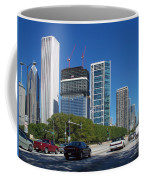 Cruising North On Lake Shore Drive In Chicago Coffee Mug