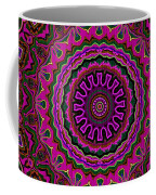 Crushed Pink Velvet Kaleidoscope Coffee Mug