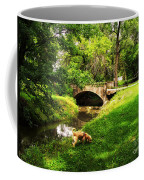 Cruz At Deer Creek Bridge Dwight Il Coffee Mug