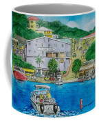 Cruz Bay St. Johns Virgin Islands Coffee Mug