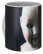 Crying Blood Coffee Mug by Joana Kruse