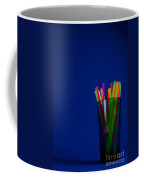 Crystal Glass And Plastic Straw 20140812-10a Coffee Mug
