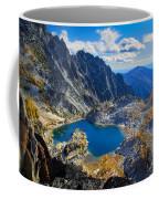 Crystal Lake Coffee Mug by Inge Johnsson