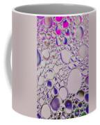Crystal Pink Abstract Coffee Mug
