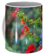 Crystals On Flowers Coffee Mug