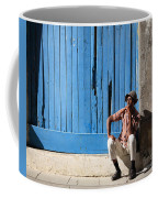 Cuban Man And His Cigar Coffee Mug