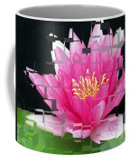 Cubed Lily Coffee Mug