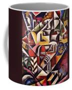 Cubist Cityscape, 1914 Coffee Mug