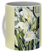 Cubist Lilies Coffee Mug by Catherine Abel