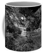 Cumberland Falls Black And White Coffee Mug