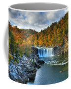 Cumberland Falls In Autumn Coffee Mug by Mel Steinhauer