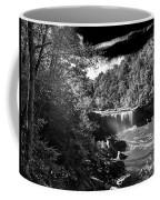 Cumberland Falls Seven Bw Coffee Mug