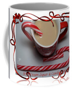 Cup Of Christmas Cheer - Candy Cane - Candy - Irish Cream Liquor Coffee Mug