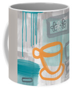 Cup Of Happiness Coffee Mug by Linda Woods