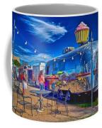 Cupcake Food Trailer Coffee Mug