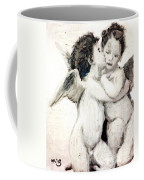 Cupid And Psyche By William Bouguereau Coffee Mug