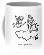 Cupid's Twin Shoots Coupons From Up On A Cloud Coffee Mug
