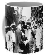 Curb Stock Brokers, C1916 Coffee Mug