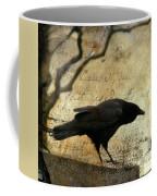 Curious Crow Coffee Mug