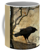 Curious Crow Coffee Mug