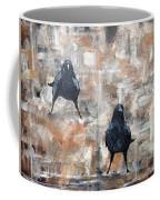 Curious Crows  Coffee Mug