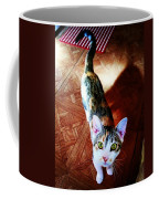 Curious Kitty Coffee Mug