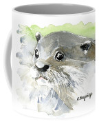 Curious Otter Coffee Mug